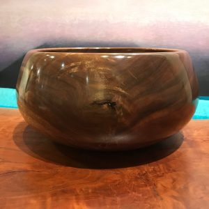 "'False Kamani Calabash' by Albert Koorenhof 5.5""H x 11.5""D $595"