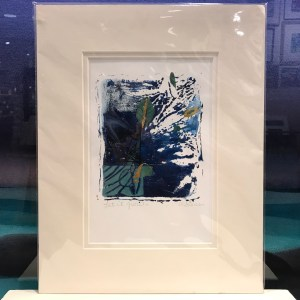 "'Let It Grow' Original Monoprint by Anne Irons 14""x 11"" matted $85"