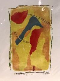 "'Festival' Original Monoprint by Anne Irons 14""x 11"" $45"