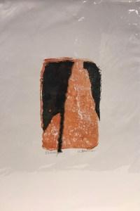 "'Passage' Original Monoprint by Anne Irons 18""x 12"" $80"