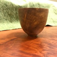 "Mango Bowl by Andy Cole 5""x 4"" $195"