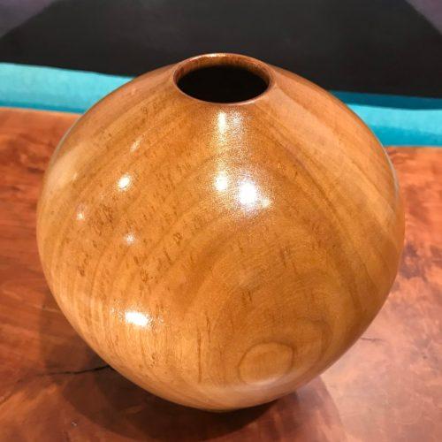 """Dragon Eye Hollow Form Vase by Roger Hirlinger 8""""H x 7""""D $130"""