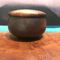 "Lidded Milo Umeke by Gordon Tang 4.5""H x 7""D $450"