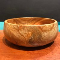 "Neem Bowl by Tom Young 2""H x 6""D $140"