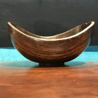 "Pheasant Wood Bowl by Kyle Iwamoto 3""H x 6""D $138"