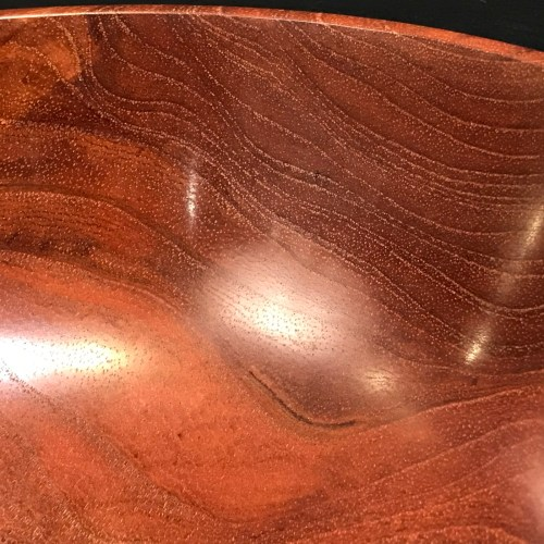 """Myrtle Bowl by Tom Young 2.5""""H x 6.25""""D $140"""