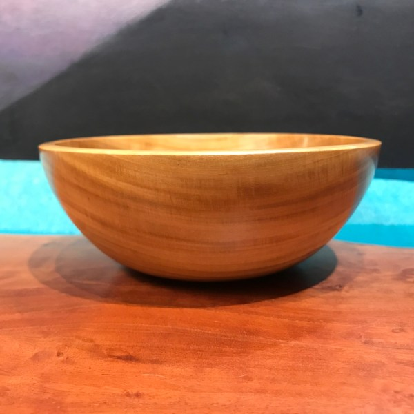 """Primavera Bowl by Tom Young 2""""H x 6""""D $140"""