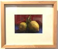 "'Zest' Original Oil Painting on Linen 9.5""H x 11.25""W Framed by Lauren Salm $295"