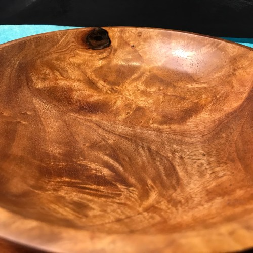 """Tropical Almond Bowl 2""""H x 8.5""""D by Tom Young $160"""