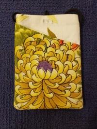 """Repurposed Kimono Pouch 7""""x 5"""" (C) $39.50"""