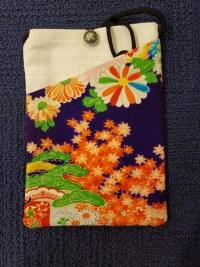 """Repurposed Kimono Pouch 7""""x 5""""(F) $39.50"""