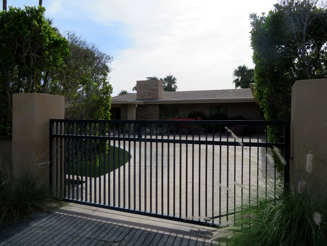 Ronald Reagan and Nancy Reagan home in Palm Springs