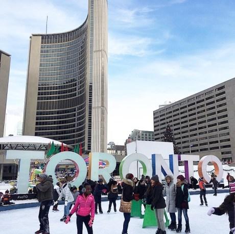 Ice Skating in Toronto