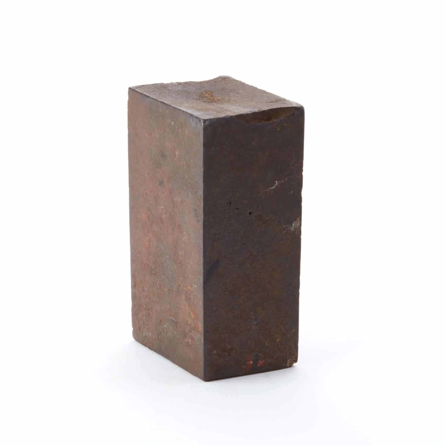 Industrial Form No 4 Vintage Iron Cuboid