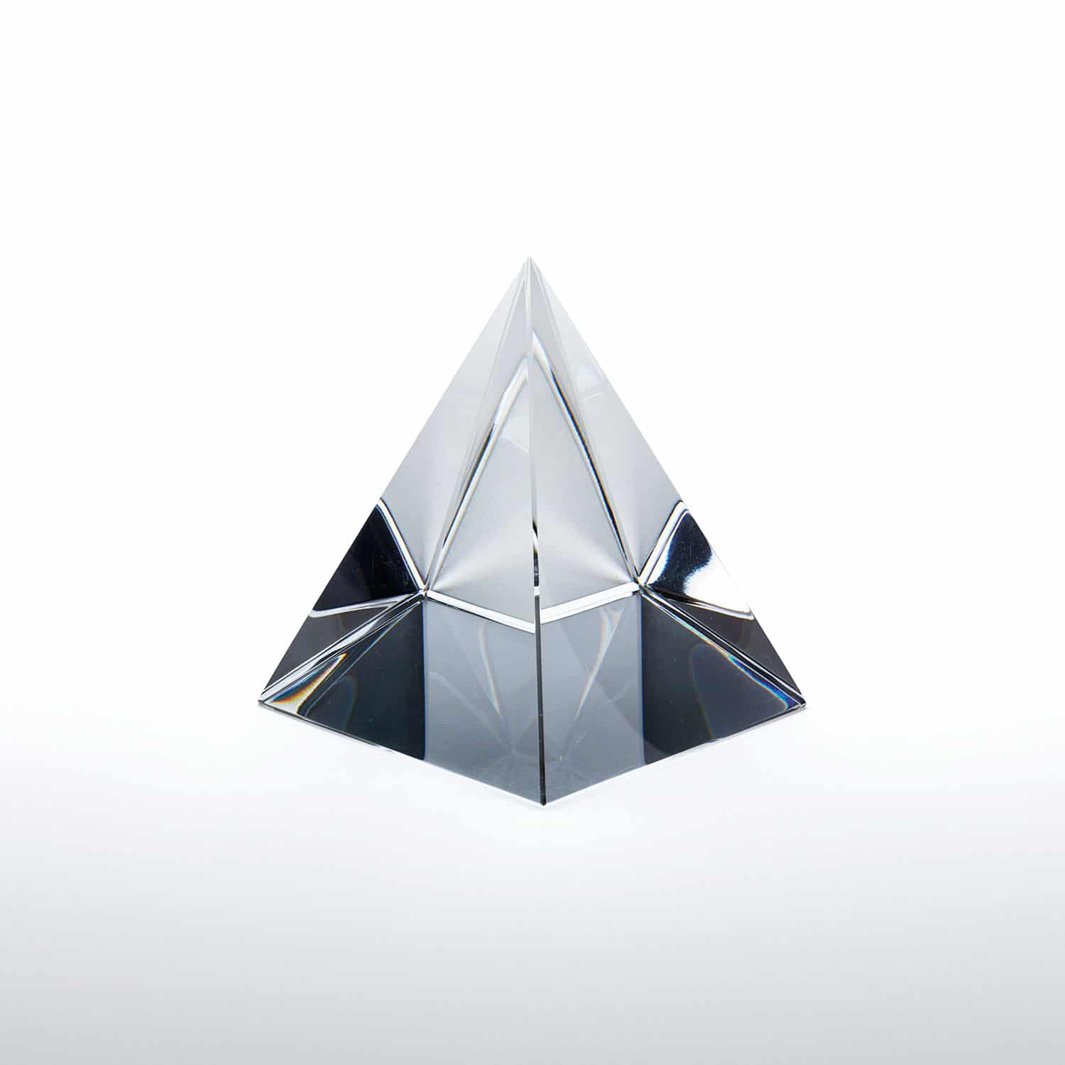 Glass Solid Pyramid