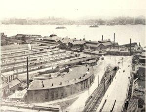 Rail History of North Hudson