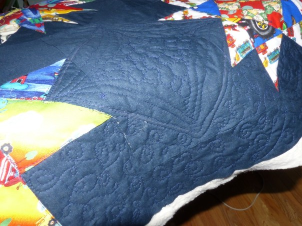 quilting stars and cars