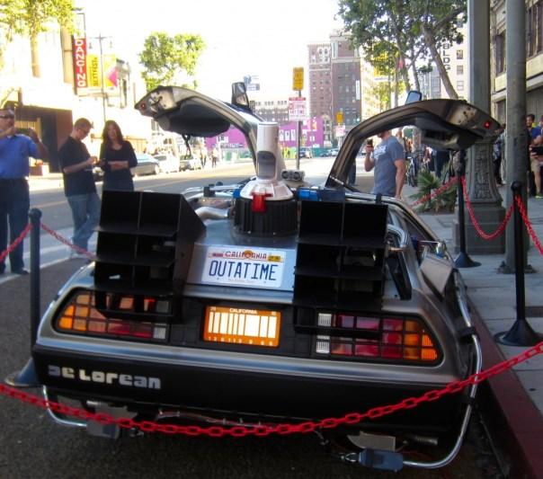 DeLorean from Back to the Future.