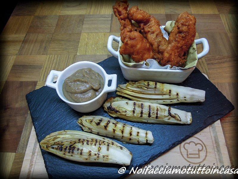 Pollo fritto con salsa alle cipolle e indivia-ar1-2
