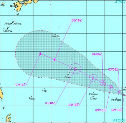台風19号の卵