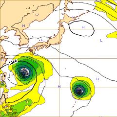 西欧台風9号9日