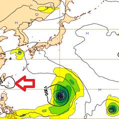 西欧台風10号
