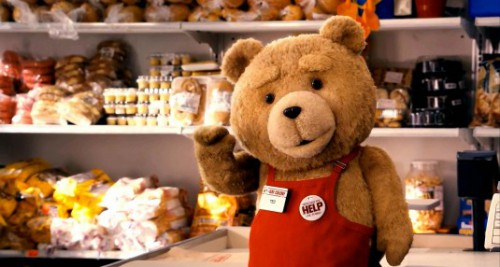 ted at work