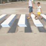 《インド》3Dアートでスピード違反防止に乗り出す!?