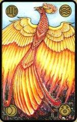 A hamvaiból feltámadó főnixmadár