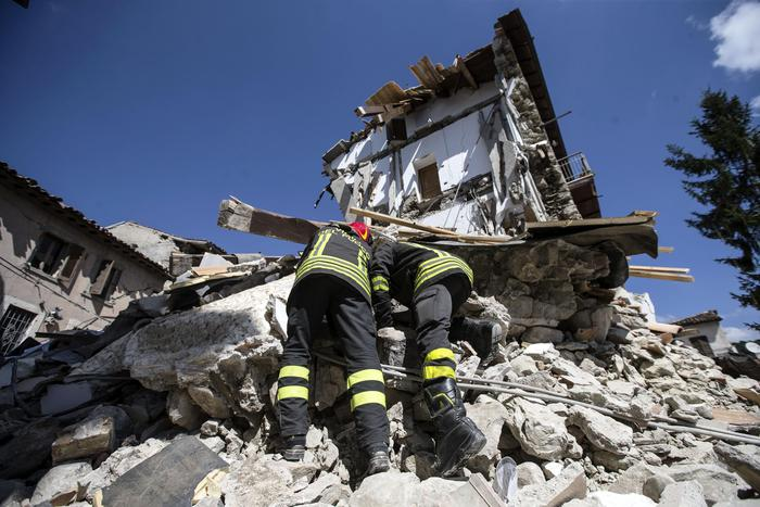 Rieti earthquake, Civil Defence : provisional toll 241 dead