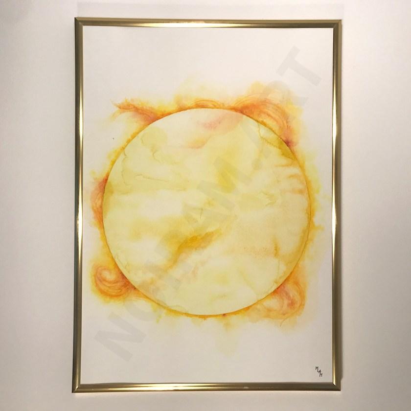 mlam noiram marion-lorraine poncet aquarelle soleil phoebus or