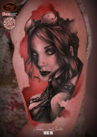 by Thomas Carli Jarlier at Noier Ink tattoo parlour