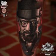by thomas Carli Jarlier done at the Liverpool tattoo convention 2016