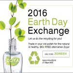 ZOYA EARTH DAY NAIL POLISH EXCHANGE 2016