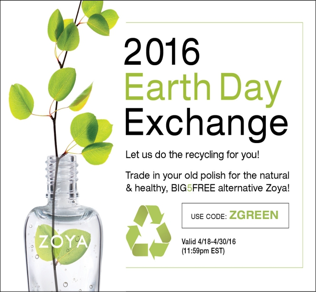 Zoya Earth Day Polish Exchange