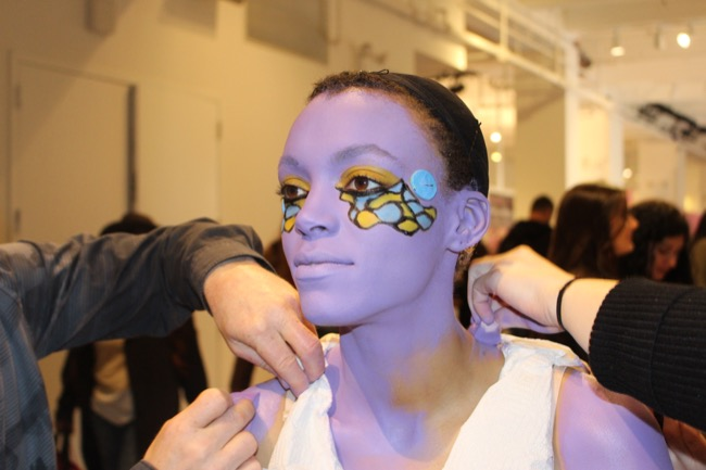 the makeup show nyc purple