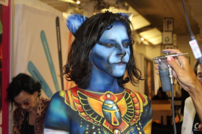 the makeup show nyc cosmix egyptian cat 1