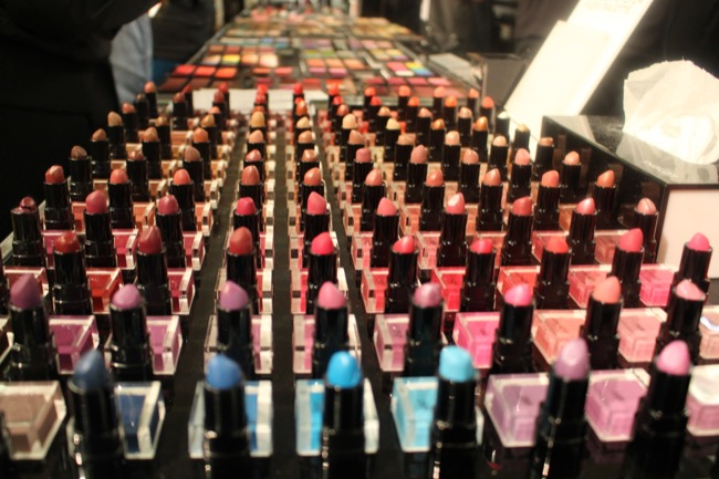 the makeup show nyc inglot lipsticks