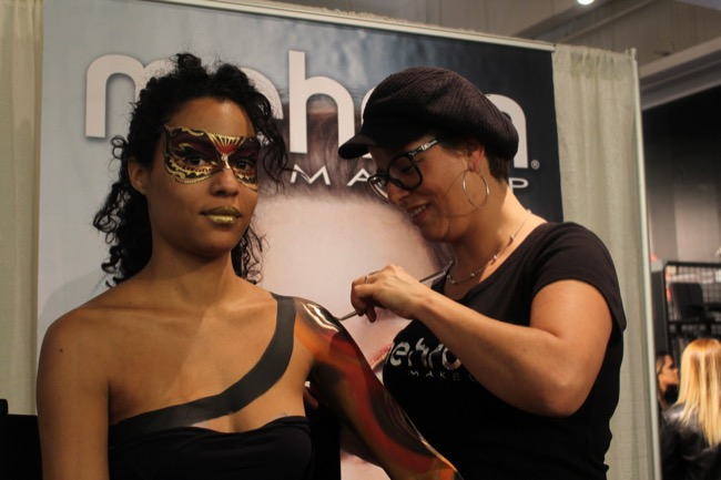the makeup show nyc mehron ginny houle 3