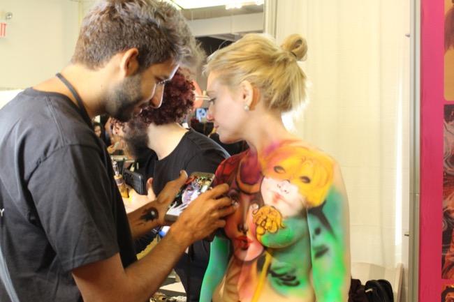the makeup show nyc cosmix girl