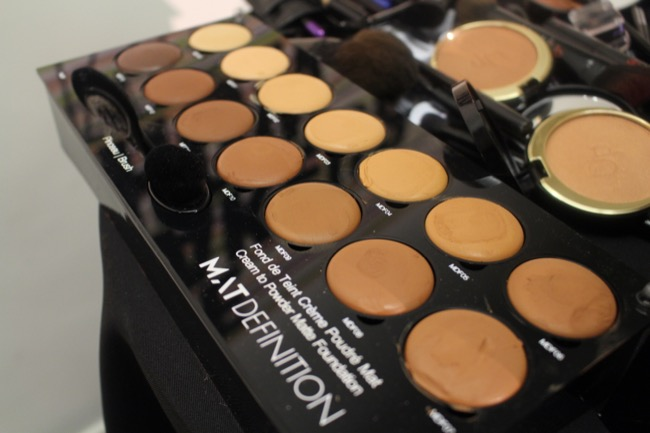 the makeup show nyc blackup matte foundation