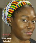 How to easily tie your African headwrap - Headwrap tutorial