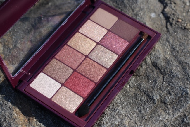 maybelline the burgundy bar review 1