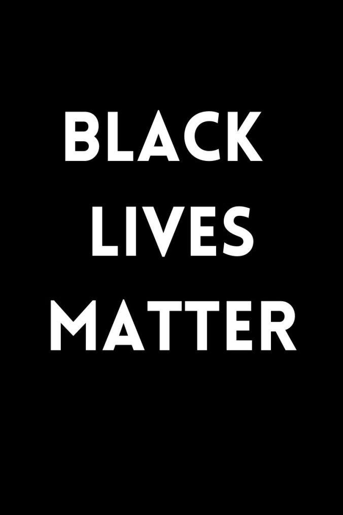 black lives matter blog post