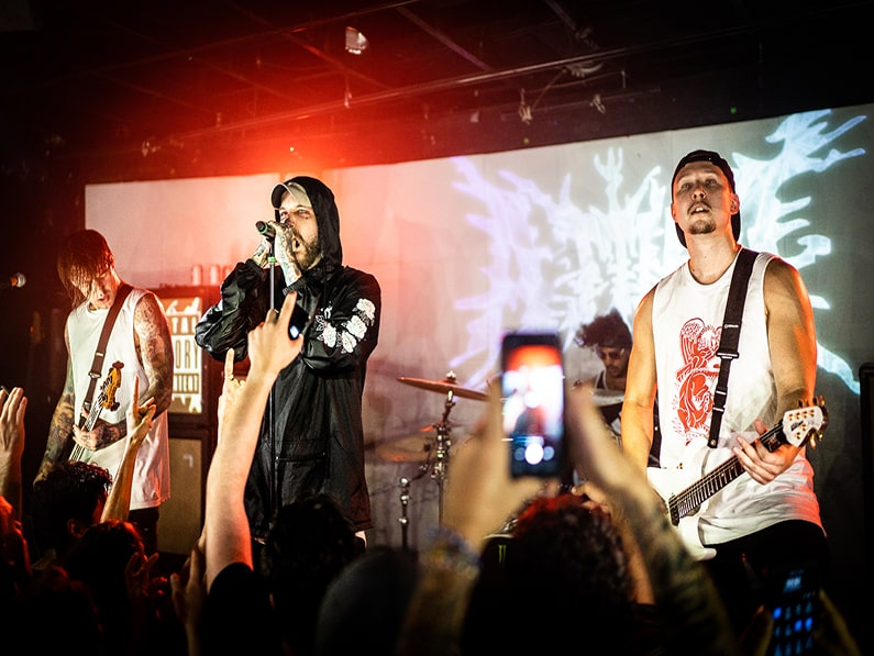 ATTILA Blows The Roof Off Of Empire Control Room In Austin