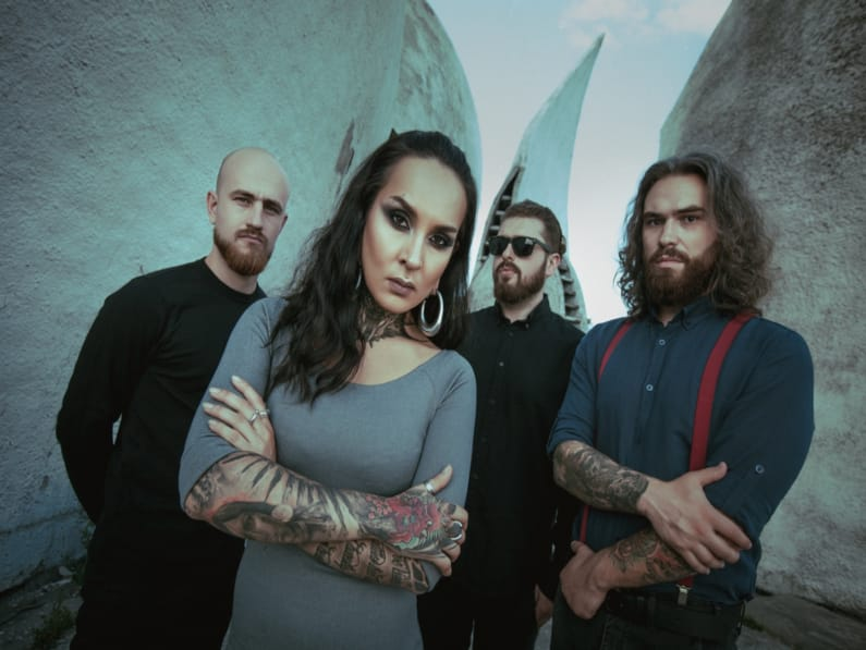 JINJER Releases Live Video for On The Top