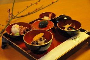 三源庵のお食い初め膳の画像