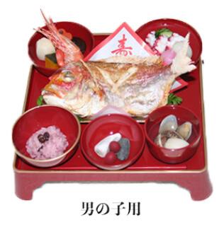 京都かわ瀬のお食い初め膳の画像