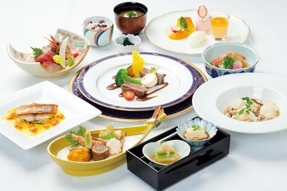メルパルク仙台のお祝いコース料理の画像