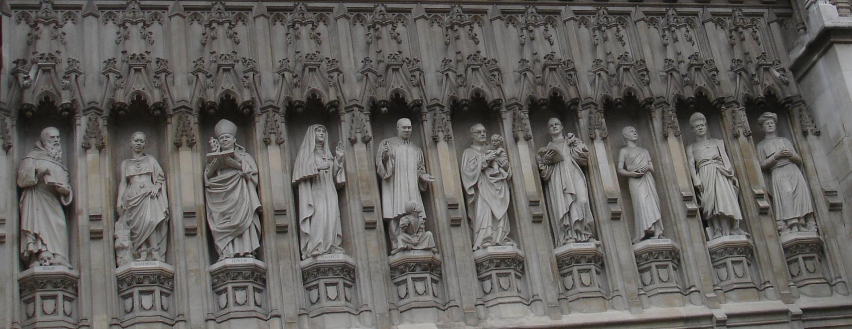 Christian Martyr Westminster Abbey